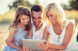 relieved family after filing for bankruptcy